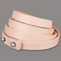 Wickelarmband 10mm 4fach naturell