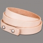 Wickelarmband 10mm 3fach naturell