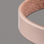 Preview: Wickelarmband 10mm 2fach naturell